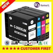new products compatible ink cartridge for canon PGI-2600xl MAXIFY Ib4060 MAXIFY MB5060 MAXIFY MB5360