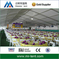 deluxe wedding party tent with high quality for hire