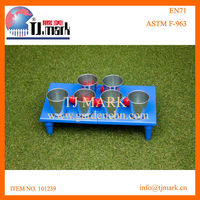 TABLE DART BALL AND CUP GAME