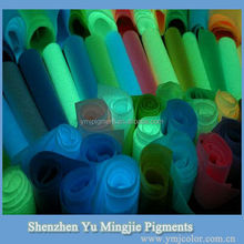 Night Glow Pigment Powder/Night Photoluminescent Pigment/Night Luminous Pigment For Textiles