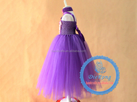 New style indian kid girls clothing factories fancy dress birthday dress for baby girl party flower dress