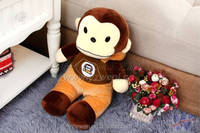 wholesale small plush valentine monkey toy gifts