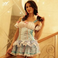 Beauty's love lingerie ladies underwear transparent sexy night dress for woman