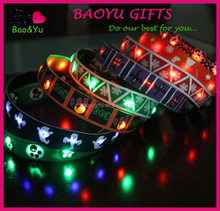 2015 pet products LED flashing dog lead pet leash