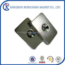 ndfeb rear earth magnetic concentrator block magnet