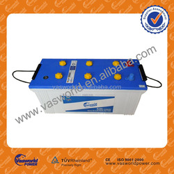 wholesale auto battery 12v220ah dry charged car battery n220 battery made in China