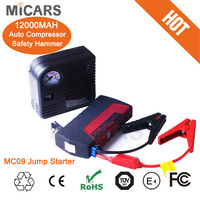 break in car kit 12000mAH multi-functional portable car jumping starter