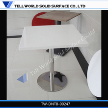 New 2014 Hot Sale Man made stone round marble top dining table