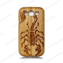 2015 Fashion Bamboo Wood Mobile Phone Back Cover For Samsung Galaxy S3