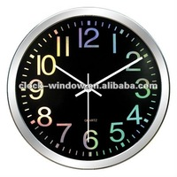 2013 New Design Wall Clock Laser Dial