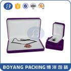 Caixa de jóias de veludo fabricante
