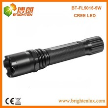 Hot Sale Heavy Duty Metal Material Powerful usa Cree bulb rechargeable flashlight