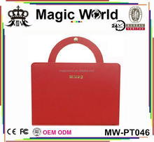 HIGH QUALITY GIRLS LEATHER BAG CASE FOR IPAD AIR 5