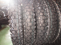 High quality Motorcycle 4.10-18 tyre made in Jiaonan China