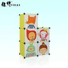 Lovely DIY Plastic Wall Clothes Closet( YK - 9022 )