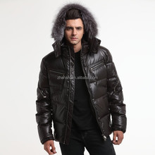 Winter Wholesale Custom Shinny Down Varsity Jacket Mens Bomber Down Jacket Canada