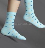 Sock for Four Seasons, ladies polyester cotton socks