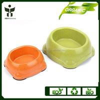 natural green dog food bowl unbreakable pet bowls