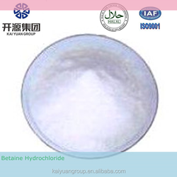2015 High quality 98% Feed Additive betaine hydrochloride CAS#107-43-7