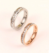 2015 Guangzhou fashion jewelry, stainless steel jewelry, diamonds wedding ring