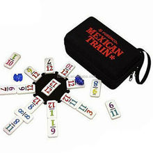 EVA Hard Tool Case For Mexican Train To Go, Number Dominoes