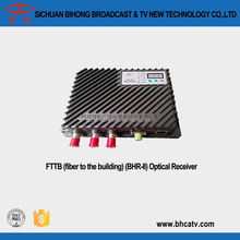 RJ45 network management interface 1310 nm and 1550 nm double working window FTTB(fiber to the building)(BHR-II) Optical Receiver