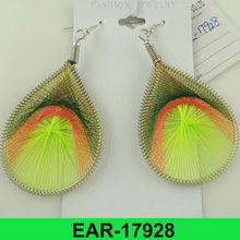 2012 hot selling wholesale cheap tear drop earrings
