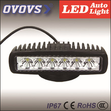 OVOVS 5.7inch 12v 18w automobile parts led work light for bicycle, car