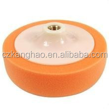 Polyurethane foam wax polishing pad, automobile polishing pad high quality free sample