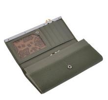 women magic wallet brand wallet leahter lady purse lady wallet 2014