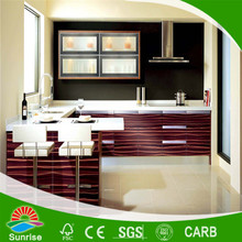 high quality PVC/acrylic kitchen cabinet door made in shandong China