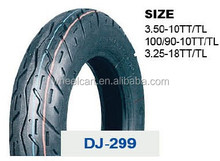 wholesale DJ high quality motorcycle tires 100/90-10