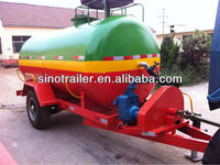 5 ton single axle tractor tank trailer for sale