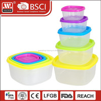 plastic container food packaging for pickle
