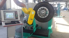 Automatic Tyre Buffer Chuck Type and Expandable Rim Type