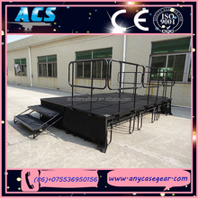ACS Aluminum more portable plywood folding stage for wedding and events