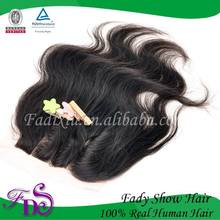 factory supplier raw remy virgin human hair closure ship to US