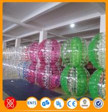 Hot sale amazing hot popular human inflatable bumper bubble ball