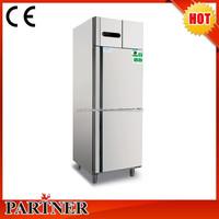 Commercial Kitchen Cooler Equipment/vertical industrial refrigerator freezer