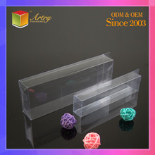 Design Your Own Logo Plastic Packaging PET Box Clear