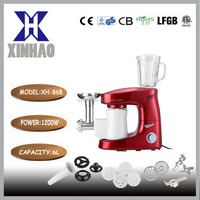 2015 professional stand mixer,3 high quality mixing tools for mixing,dough making and S/S egg whisker
