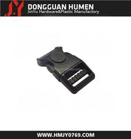 Jinyu new paracord side release plastic buckle/plastic bag belt buckle