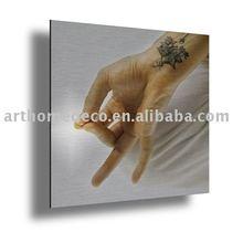 printed aluminum painting