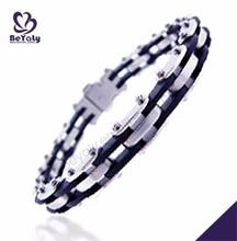Cheap wholesale for men diy leather bracelet and pendant