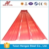 Corrugated aluminum roof panels / galvalume corrugated sheet / color coated corrugated panels for roofing