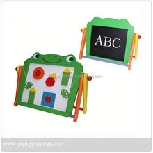 Children Painting Board , Kids portable drawing board , Wooden Blackboard with Stand