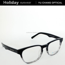 Translucent big oval frames acetate reading glasses