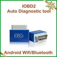2013 high recommand wholesale price iOBD2 vehicle diagnostic tool communicate with Android phones/ Tablets with WIFI/Bluetooth