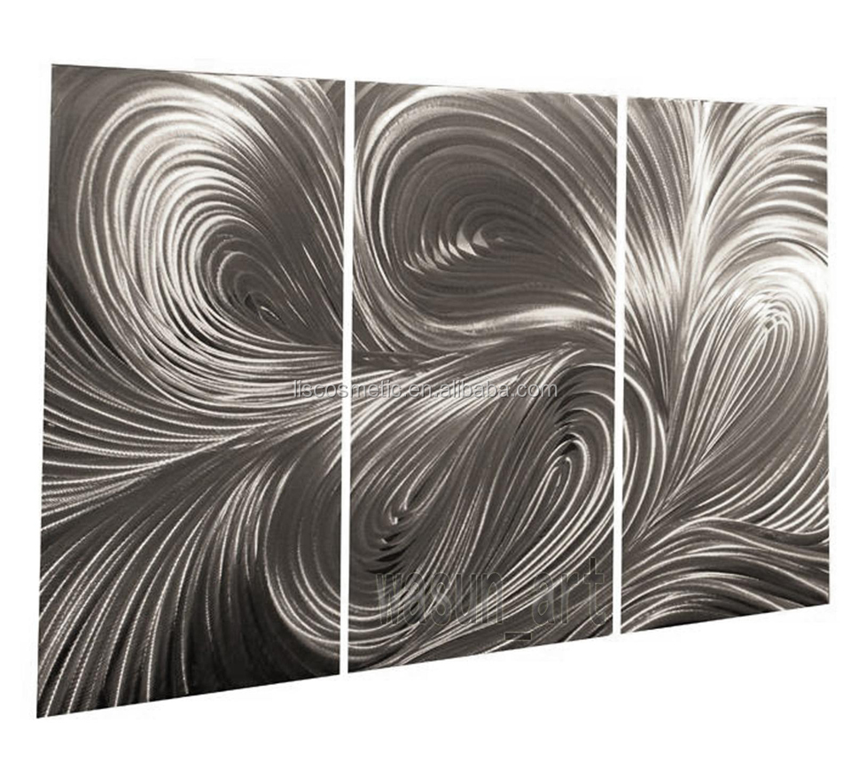 Metall malerei wand sculpturemodern abstrakte metallwandkunst ...