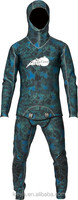 two pieces diving suit wetsuit spearfishing wetsuit